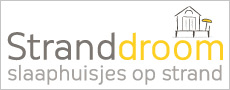 Stranddroom - Slaaphuisjes op strand tussen Domburg en Westkapelle